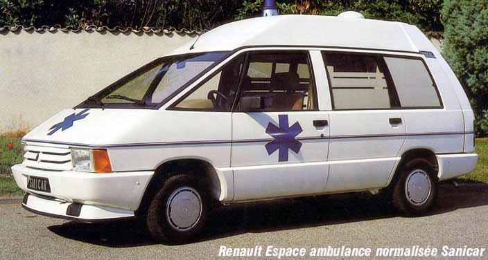 renault espace ambulance s rie 1 j11 in between the lines 1992 1994. Black Bedroom Furniture Sets. Home Design Ideas
